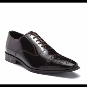 Versace Leather Cap Top Oxford Size 43